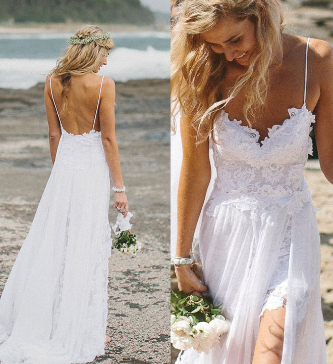 Tips When Deciding On Beach Wedding Dresses